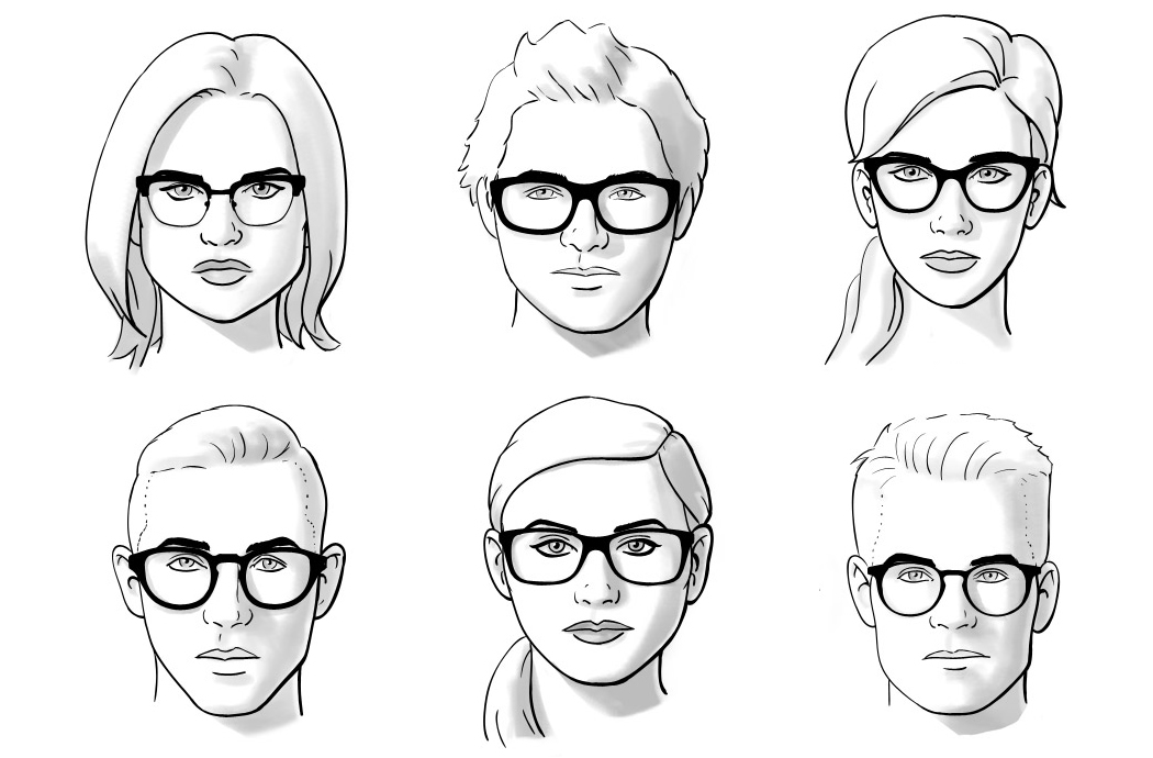 Kako odabrati naočare za oblik lica